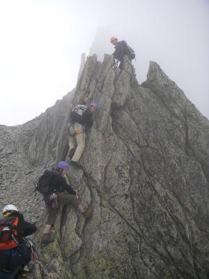 Bergsteigen 4